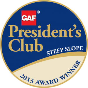 GAF Presidents Club logo