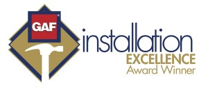 GAF Installation excellence logo