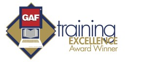 GAF Training excellence logo