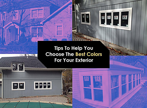 Tips to Help You Choose the Best Colors for Your Exterior