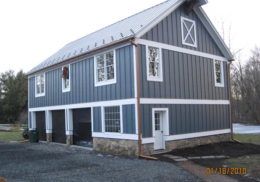 Barn House Guttering