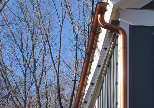 Copper Gutter Replacement